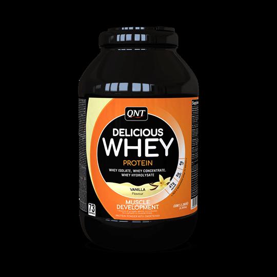 Picture of QNT Delicious Whey Protein Powder Vanilla 2.2Kg