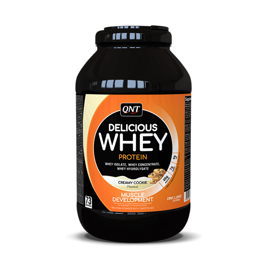 Picture of QNT Delicious Whey Protein Powder Creamy Cookie 2.2Kg
