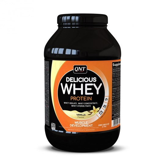 Picture of QNT Delicious Whey Protein Powder Vanilla 908gr