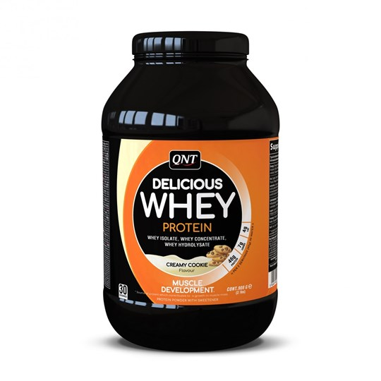 Picture of QNT Delicious Whey Protein Powder Creamy Cookie 908gr