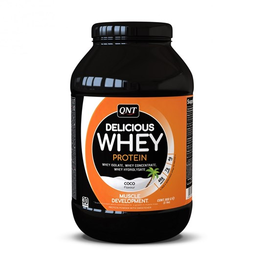 Picture of QNT Delicious Whey Protein Powder Coconut 908gr