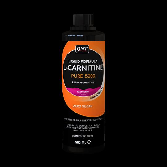 Picture of QNT L-Carnitine 5000 Rasberry 500ml