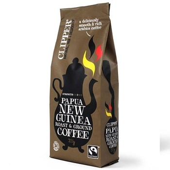 Picture of Clipper Βιολογικός Καφές Φιλτρου Papua New Guinea 227γρ