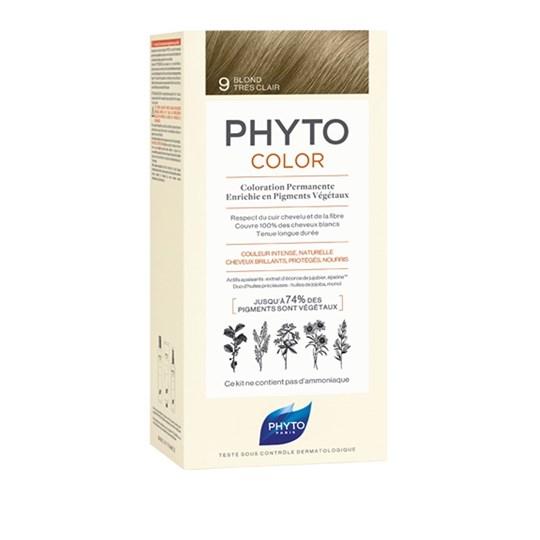 Picture of Phytocolor Μόνιμη Βαφή Μαλλιών 9 Ξανθό Πολύ Ανοιχτό