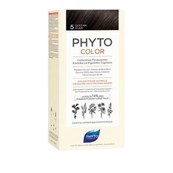 Picture of Phytocolor Μόνιμη Βαφή Μαλλιών 5 Καστανό Ανοιχτό