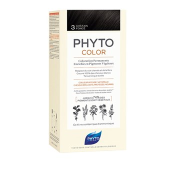 Picture of Phytocolor Μόνιμη Βαφή Μαλλιών 3 Καστανό Σκούρο