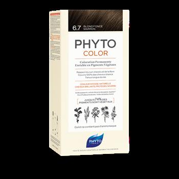 Picture of Phytocolor Μόνιμη Βαφή Μαλλιών 6.7 Ξανθό Σκούρο Σοκολατί