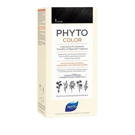 Picture of Phytocolor Μόνιμη Βαφή Μαλλιών 1 Μαύρο