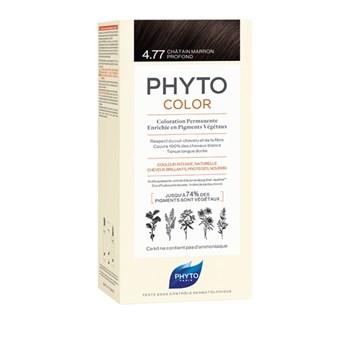 Picture of Phytocolor Μόνιμη Βαφή Μαλλιών 4.77 Καστανό Εντονο Μαρόν