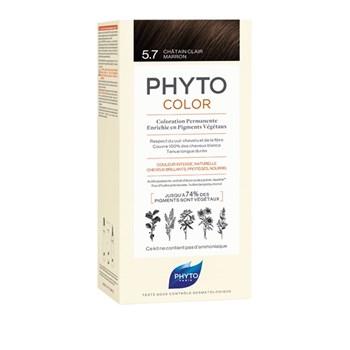 Picture of Phytocolor Μόνιμη Βαφή Μαλλιών 5.7 Καστανό Ανοιχτό Μαρόν