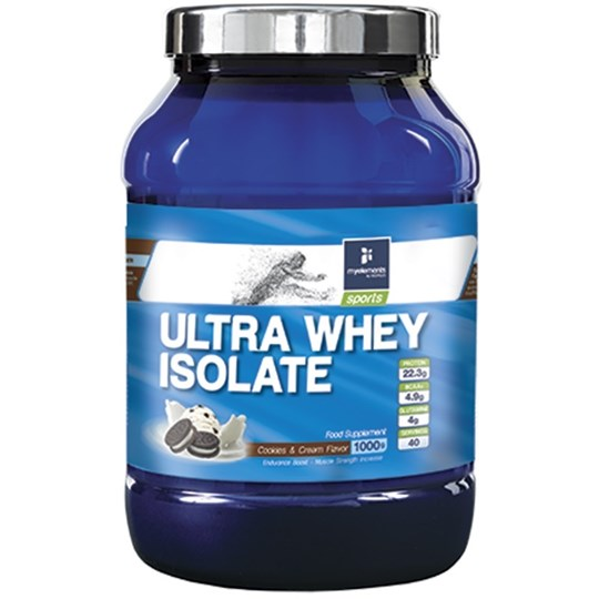 Picture of My Elements Ultra Whey Isolate Cookies & Cream 1000gr