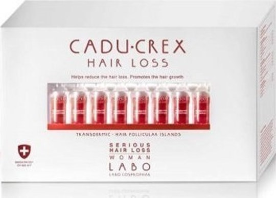 Picture of Labo Caducrex Hair Loss Serious Woman 40x3.5ml Αμπούλες
