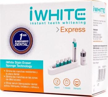 Picture of iWhite Express1 συσκευή λεύκανσης, 5 σφουγγαράκια αφαίρεσης, 1 ορός λεύκανσης δοντιών