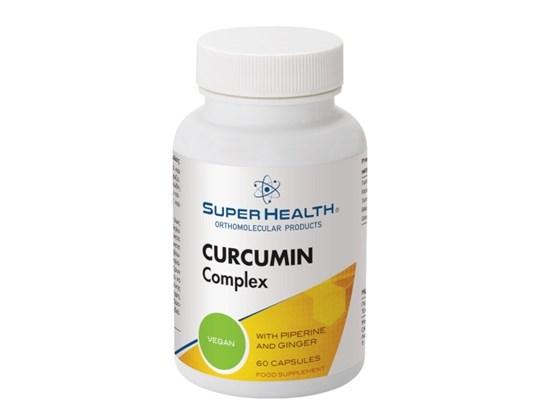 Picture of SUPER HEALTH Curcumin Complex 60caps