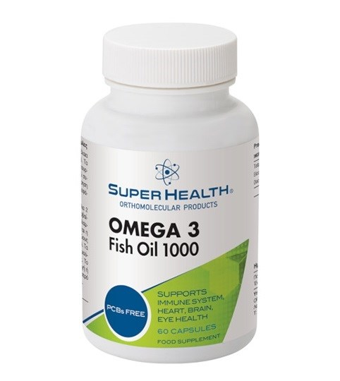 Picture of Super Health Omega 3 Fish Oil 1000 60caps