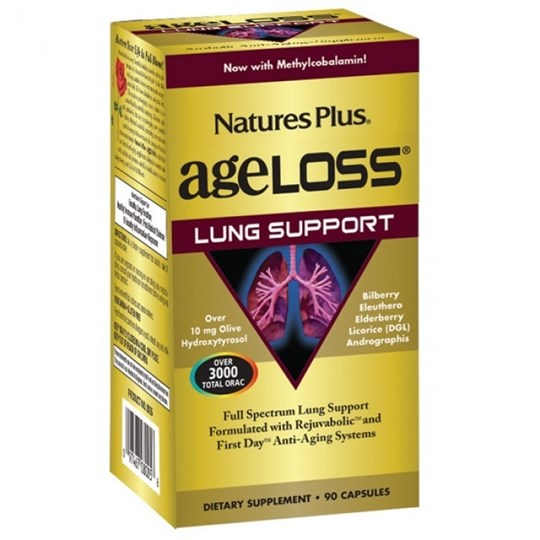 Picture of Natures Plus AgeLoss Lung Support 90caps