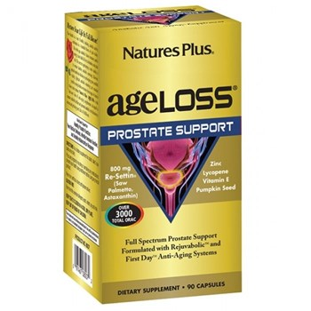 Picture of Natures Plus AgeLoss Prostate Support 90caps