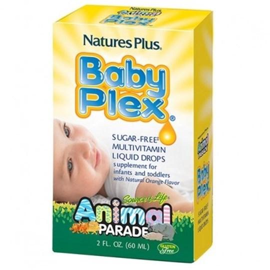 Picture of Natures Plus ANIMAL PARADE BABY PLEX 60ml