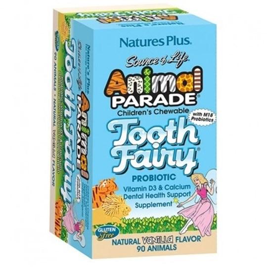 Picture of Natures Plus ANIMAL PARADE Tooth Fairy 90chewtabs