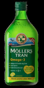 Picture of MOLLER'S Μουρουνέλαιο υγρό 250ml Lemon