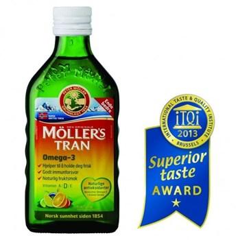Picture of MOLLER'S Μουρουνέλαιο υγρό 250ml Tutti Frutti