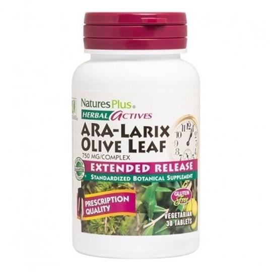 Picture of Natures Plus ARA-Larix/OLIVE LEAF 750 mg 30tabs