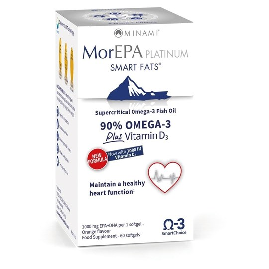 Picture of MINAMI MorEPA Cholesterol Smart Fats 30 caps