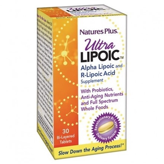 Picture of Nature's Plus ULTRA LIPOIC 30tabs