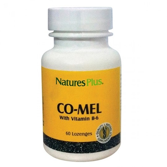 Picture of Natures Plus Co-Mel with vitamin B6 60Lozenges