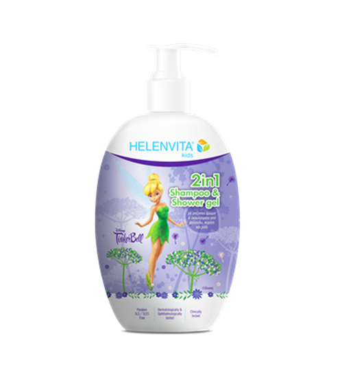 Picture of HELENVITA KIDS 2 IN 1 SHAMPOO & SHOWER GEL TINKERBELL 500ML