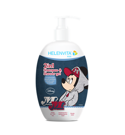 Picture of HELENVITA KIDS 2 IN 1 SHAMPOO & SHOWER GEL MICKEY MOUSE 500ML