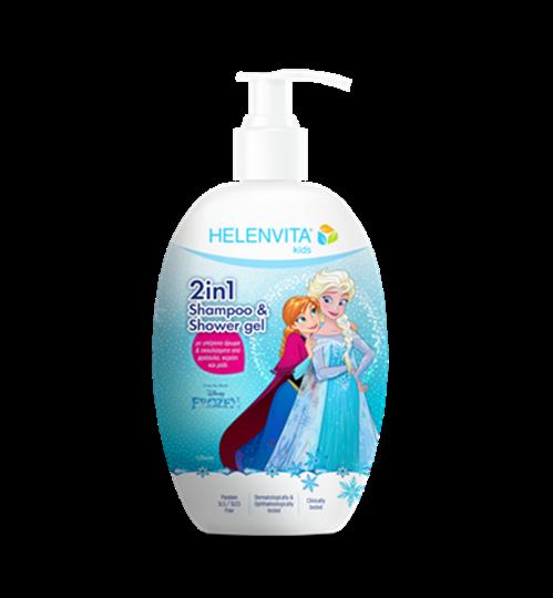 Picture of HELENVITA KIDS 2 IN 1 SHAMPOO & SHOWER GEL FROZEN 500ML