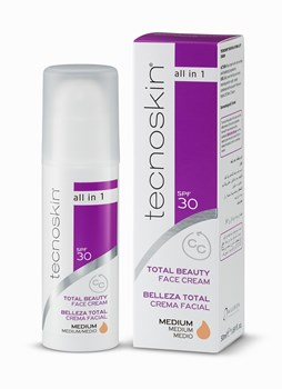 Picture of TECNOSKIN Total Beauty Face Cream Medium 50ml