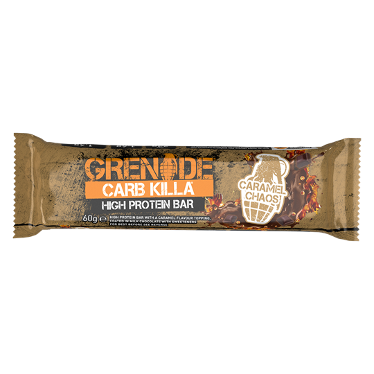 Picture of Grenade Carb Killa Μπάρες Υψηλής Πρωτεΐνης Caramel Chaos 60gr
