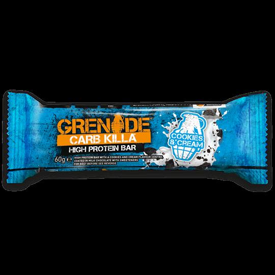 Picture of Grenade Carb Killa Μπάρες Υψηλής Πρωτεΐνης Cookies & Cream 60gr