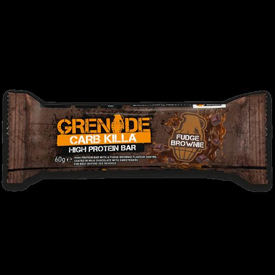 Picture of Grenade Carb Killa Μπάρες Υψηλής Πρωτεΐνης Fudge Brownie 60gr