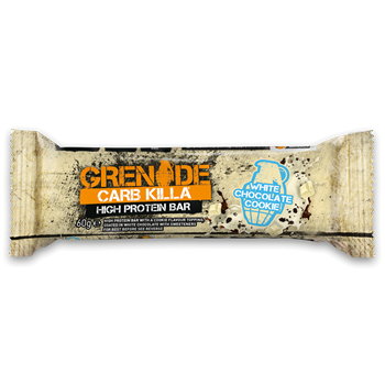 Picture of Grenade Carb Killa Μπάρες Υψηλής Πρωτεΐνης White Chocolate Cookie 60gr