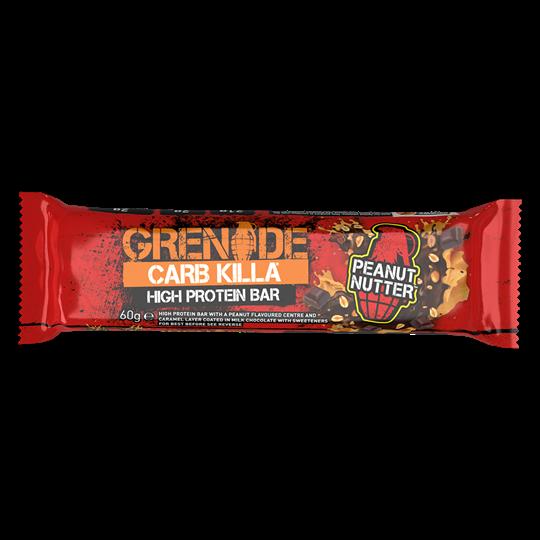 Picture of Grenade Carb Killa Μπάρες Υψηλής Πρωτεΐνης Peanut Nutter 60gr