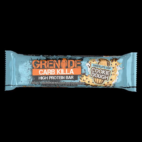 Picture of Grenade Carb Killa Μπάρες Υψηλής Chocolate Chip Cookie Dough 60gr