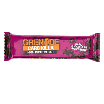 Picture of Grenade Carb Killa Μπάρες Υψηλής Πρωτεΐνης Dark Chocolate Raspberry 60gr