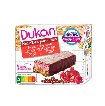 Picture of Dukan Γκοφρέτες βρώμης με σοκολάτα & μούρα 120gr