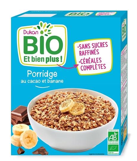 Picture of Dukan BIO Πόριτζ (Porridge) με σοκολάτα & μπανάνα 300gr