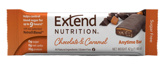 Picture of EXTEND NUTRITION Bars Chocolate Caramel 42gr