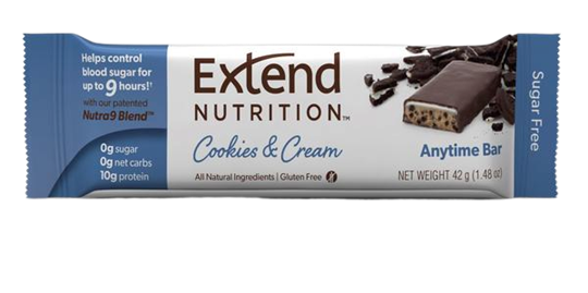 Picture of EXTEND NUTRITION Bars Cookies & Cream 40gr