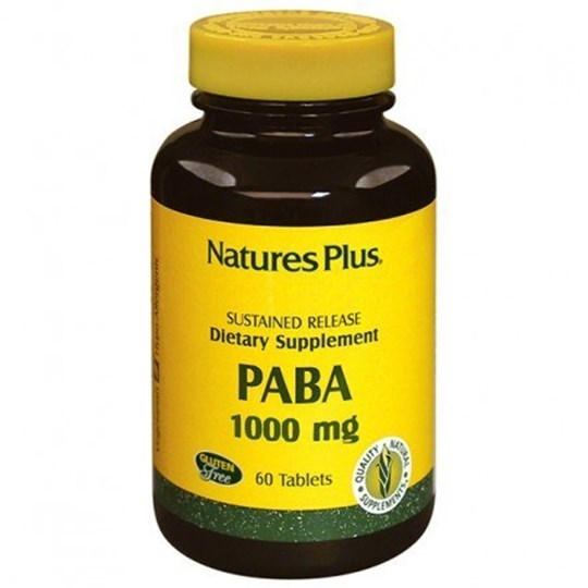 Picture of Natures Plus Paba 1000mg 60 tabs