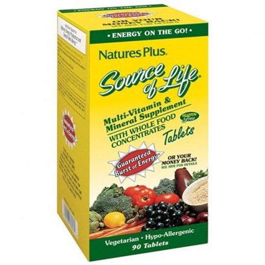 Picture of Natures Plus Ultra Source of Life 90 tablets