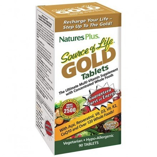 Picture of Natures Plus Ultra Source of Life Gold 90 tablets