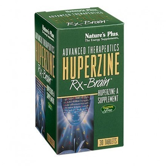 Picture of Natures Plus HUPERZINE Rx-Brain 30 tabs