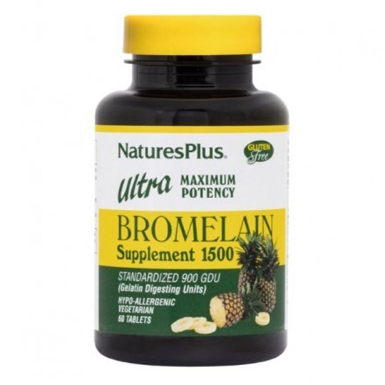 Picture of Natures Plus Ultra Bromelain 1500mg  60tabs