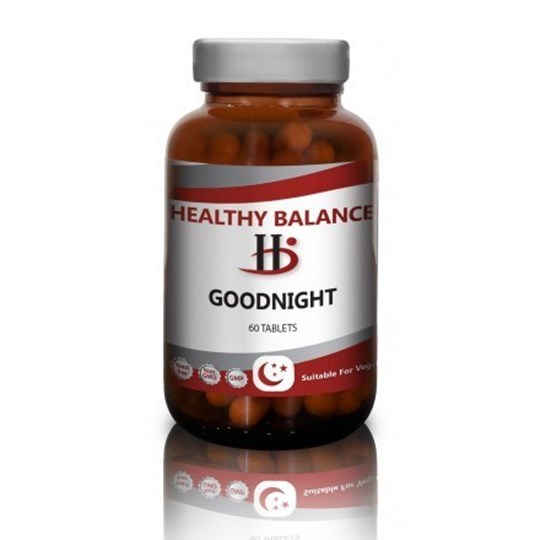 Picture of HEALTHY BALANCE GOODNIGHT 60 TABLETS